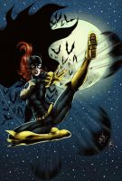 Batgirl - New 52 (colors) by FantasticMystery