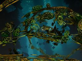The rise of the Scuba Fractal -reload by PhotoComix2