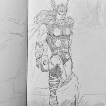 Thor by Mechafire1234