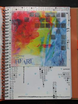 Art Journal - Art is the Literacy of the Heart by dreamycards