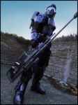 Sniper ODST Costume by FredProps