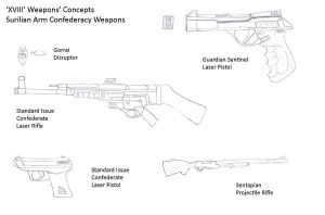 XVIII Concepts- Confed Weapons by R-Zion