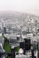 Chicago from the Sears Tower 3 by IanTheRed