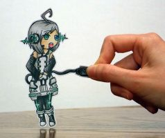 Piko Paperchild by TinyPaperStars