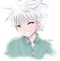 Smile, Killua! by DichiKillua
