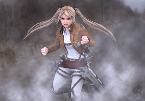 Marie Rose - Attack On Titan test by Konos-P