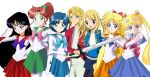 .: Commission : Link Lucy and Sailor Scouts :. by Sincity2100
