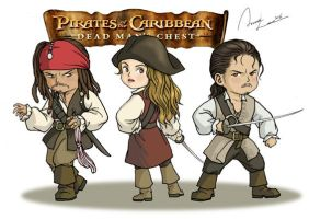 Pirates Cartoon by ilxwing