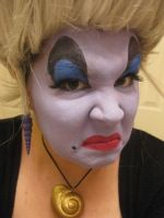 Ursula make-up practice 2.0 by Pancake-mix