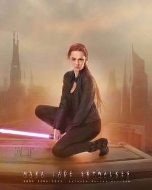 Mara Jade Skywalker by cylonka