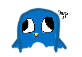 Derp Pingu by UsagiTail
