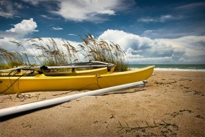 yellow boat by b-rooks