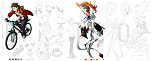 Namikawa: Full Character Sheet by monokroe
