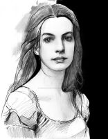 Les Miserables - Anne Hathaway as Fantine by MonsieurDenvoir
