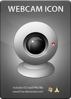 Webcam Icon by sword1ne