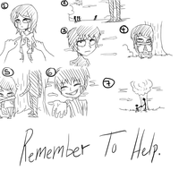 Remember To Help. by MikaelBratLoni