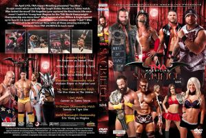TNA Sacrifice 2014 DVD Cover by Chirantha
