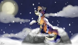 :RQ: Falling Snow by LouPup