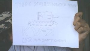 Derp drawing: KV-2 by COLT731
