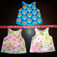 Preemie Day Gowns Complete 11-24-13 by wiccanwitchiepoo