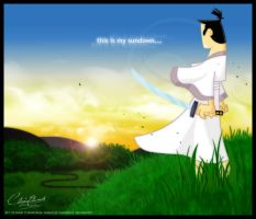 My Sundown by clairebearer