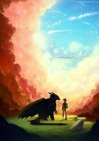 HTTYD2 - Beyond The Clouds by yakusokudayo