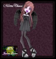 Mona Chaos re-done by MH-JuniorQueen