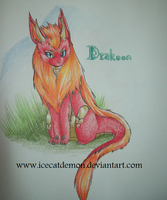 Fakemon: Drakeon by IceCatDemon