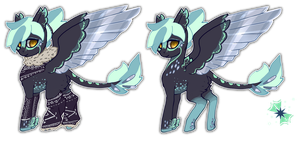 MLP Mirror pony OTA 1 CLOSED by ElkaArt