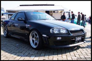 Skyline R34 GT-T by compaan-art