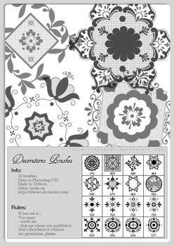 FREE - Decorations Brushes by MissDidichan
