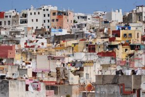 Moroccan Cityscape by Tyyourshoes