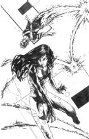 young psylocke con cannonball by soulspline