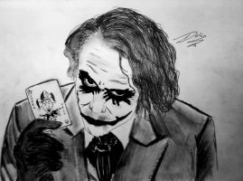joker face by DahliaArt7