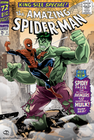 Spider-Man vs Hulk: Cover version by Tloessy