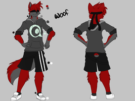 Woof Outfit Design by SnowyCakes