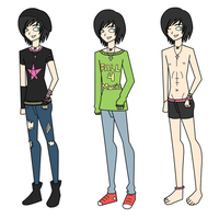 Diego TDI Clothes by Sparvely