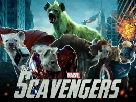 The Scavengers - Hyena Avengers by LadyFiszi