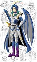 Human Meta Knight by Marionette-Virus