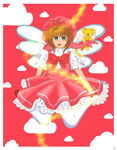 Cardcaptor Sakura: Soaring on Cloud Pink by EzmeAG98