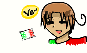 Drawing Italy on dAmuro by goodlucklight