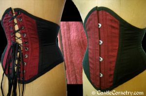 Silk Cincher by CastleCorsetry