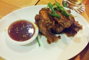 Thai Fried Chicken Wings by nosugarjustanger
