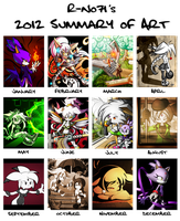 2012 Summary of Art by R-no71