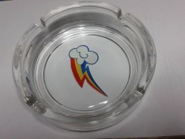 Rainbow Dash Ashtray by smudo1