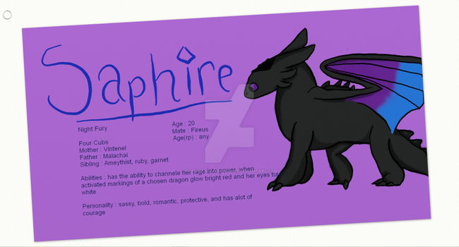 Saphire Ref by Saphireandfirusforer