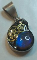 Steampunk Ammolite by Phoenix-Cry