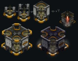 Missile Silo Stages by SC4V3NG3R