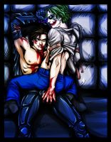 Arkham Escape by loonylucifer