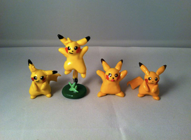 My Pikachu Characters by AmethystCreatures
